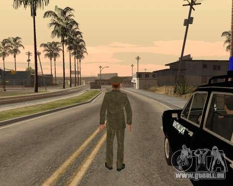 Russische Armee Skin Pack für GTA San Andreas elften Screenshot