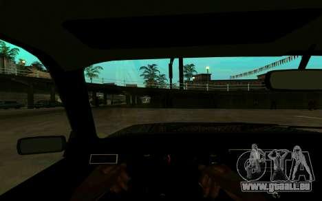 VAZ 2107 Hiver pour GTA San Andreas vue de droite
