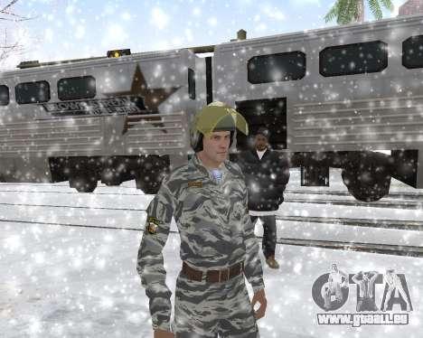 Les OMON pour GTA San Andreas cinquième écran