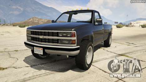1994 Chevrolet Silverado pour GTA 5