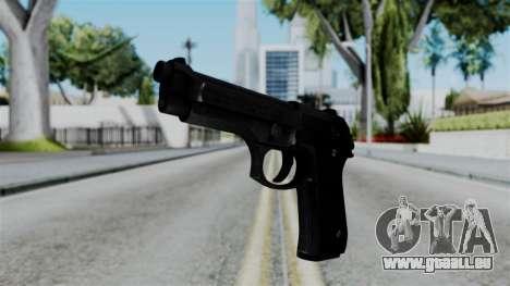 No More Room in Hell - Beretta 92FS für GTA San Andreas