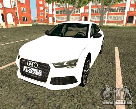 Audi RS7 Quattro pour GTA San Andreas