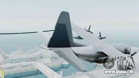 KC-130 Air Tanker für GTA San Andreas zurück linke Ansicht