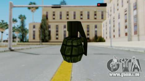 GTA 3 Grenade pour GTA San Andreas deuxième écran