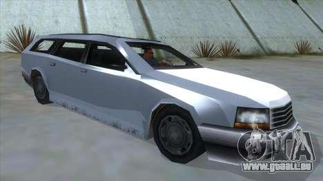 GTA LCS Sindacco Argento pour GTA San Andreas vue de droite
