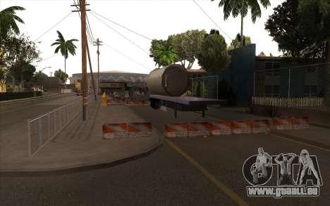 Des travaux de réparation sur Grove Street pour GTA San Andreas quatrième écran