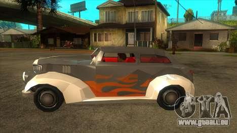 GTA LCS Thunder-Rodd für GTA San Andreas linke Ansicht