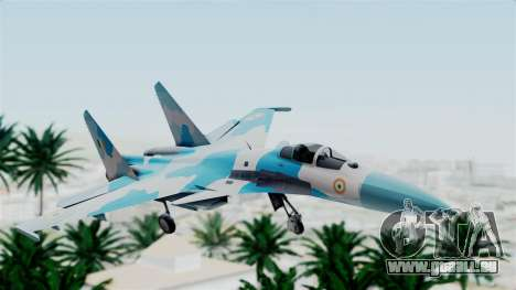 SU-37 Indian Air Force pour GTA San Andreas