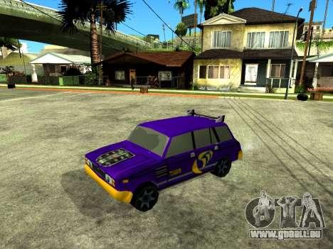 VAZ 2104 WRC pour GTA San Andreas