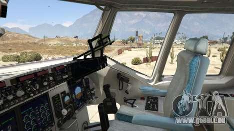 GTA 5 C-17A Globemaster III v.1.1 fünfter Screenshot