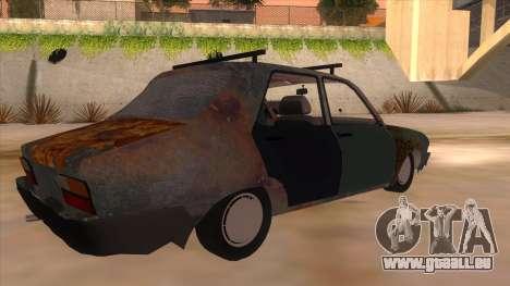 Dacia 1310 Rusty v2 pour GTA San Andreas vue de droite