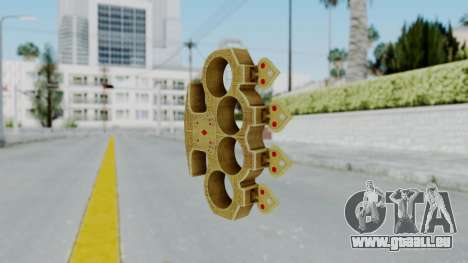 The Player Knuckle Dusters from Ill GG Part 2 pour GTA San Andreas