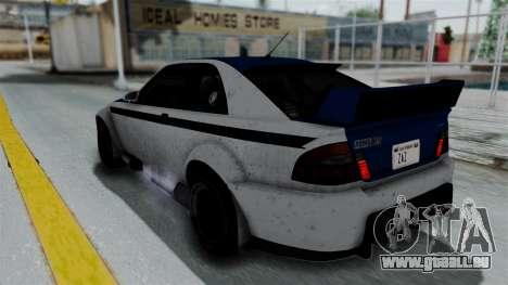 GTA 5 Karin Sultan RS Rally PJ für GTA San Andreas Unteransicht