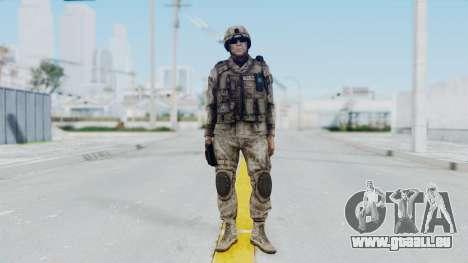 Crysis 2 US Soldier 1 Bodygroup A pour GTA San Andreas deuxième écran