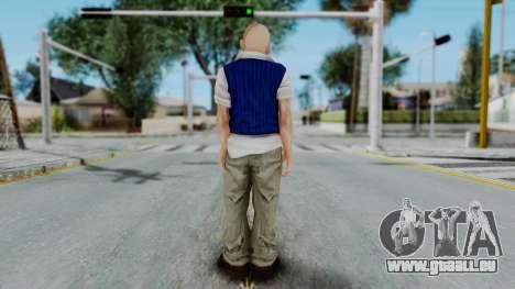 Bully Insanity Edition - Jimmy pour GTA San Andreas troisième écran