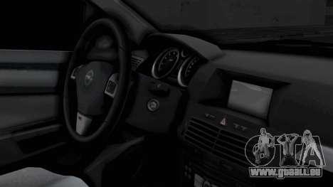 Opel Astra pour GTA San Andreas vue de droite