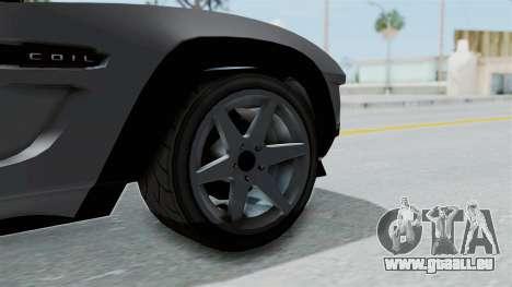 GTA 5 Coil Brawler Coupe IVF pour GTA San Andreas sur la vue arrière gauche