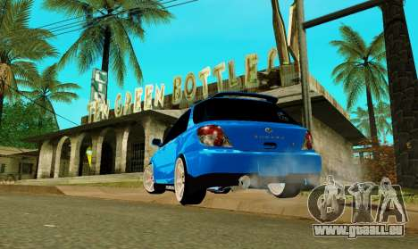 Subaru Impreza WRX STi Wagon 2003 für GTA San Andreas linke Ansicht