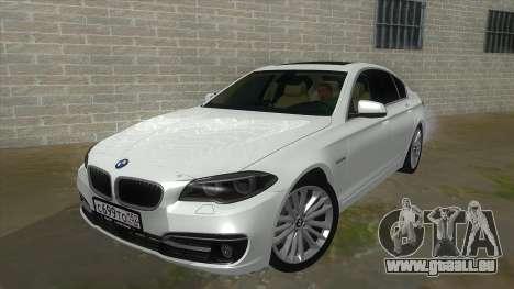 BMW 530XD F10 für GTA San Andreas