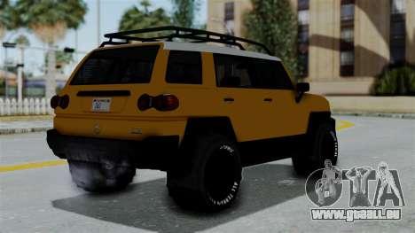 GTA 5 Karin Beejay XL Offroad pour GTA San Andreas laissé vue