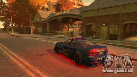 Albany Police Stinger für GTA 4 rechte Ansicht