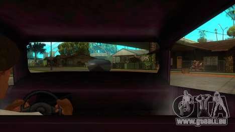 Diablos Hotknife pour GTA San Andreas vue intérieure