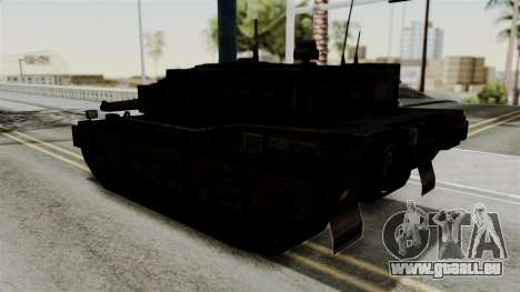 Point Blank Black Panther Rusty für GTA San Andreas linke Ansicht