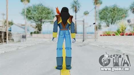 DBZBT3 - Super 17 für GTA San Andreas dritten Screenshot