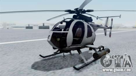Makarovs Private MD-500 pour GTA San Andreas