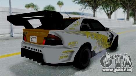 GTA 5 Karin Sultan RS Drift Big Spoiler PJ für GTA San Andreas Motor