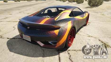 GTA 5 Jester Carbon Line hinten links Seitenansicht
