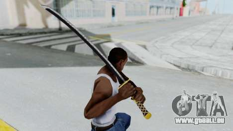 Samurai Sword v1 pour GTA San Andreas troisième écran