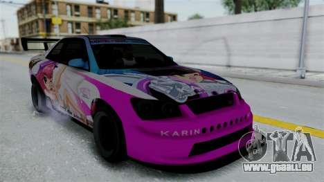 GTA 5 Karin Sultan RS Drift Big Spoiler PJ für GTA San Andreas Räder