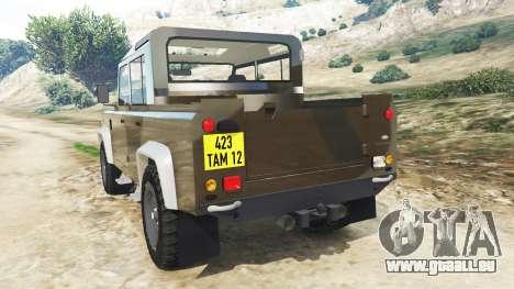 Land Rover Defender 110 Pickup pour GTA 5
