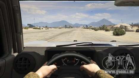 GTA 5 Hummer H2 Rückansicht