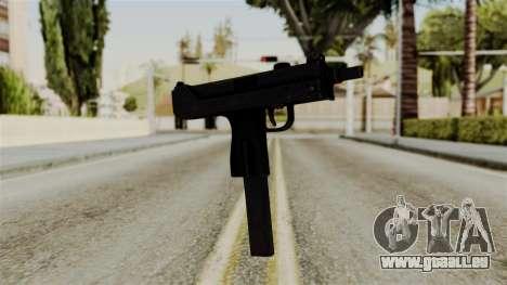 MAC-10 pour GTA San Andreas deuxième écran
