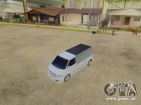 Volkswagen T4 Caravelle 35 Cup (1997) [Вездеход] pour GTA San Andreas vue arrière