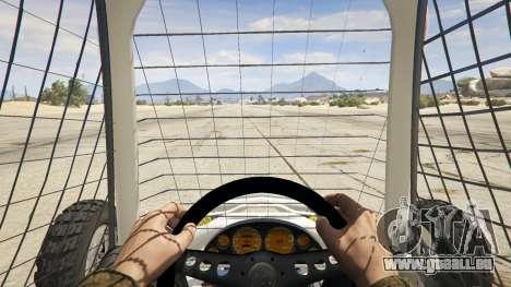 GTA 5 Kart Cross Rückansicht