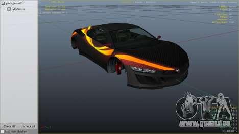 GTA 5 Jester Carbon Line rechte Seitenansicht