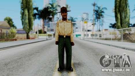 Instructor v2 from Half Life Opposing Force für GTA San Andreas zweiten Screenshot