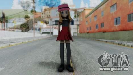 Pokémon XY Series - Serena pour GTA San Andreas deuxième écran