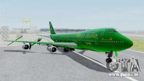 Boeing 747-100 Grove Street für GTA San Andreas