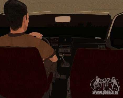 IZH ODA 1.6 e für GTA San Andreas zurück linke Ansicht