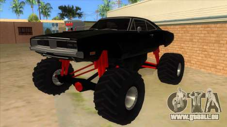 1969 Dodge Charger Monster Truck pour GTA San Andreas