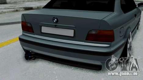 BMW 320 E36 Coupe pour GTA San Andreas vue arrière