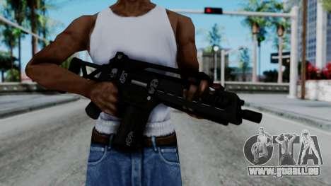 G36k from GTA 5 für GTA San Andreas dritten Screenshot