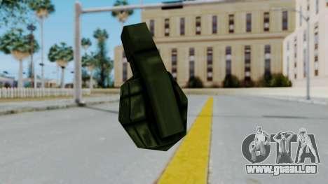 GTA 3 Grenade pour GTA San Andreas troisième écran
