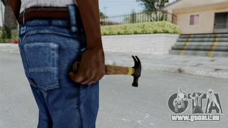 GTA 5 Hammer pour GTA San Andreas troisième écran