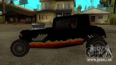 Diablos Hotknife für GTA San Andreas linke Ansicht