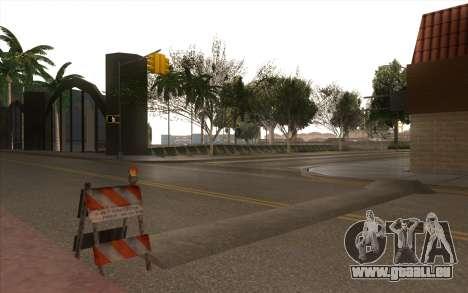 Des travaux de réparation sur Grove Street pour GTA San Andreas